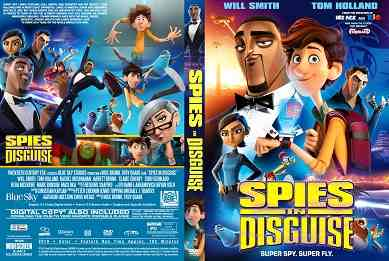Spies In Disguise 2019 کاور سیتی